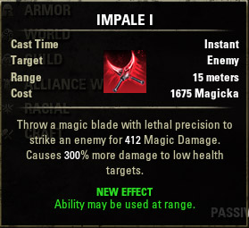 Assassins Blade Impale I