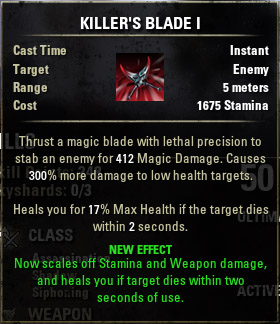 Assassins Killers Blade I
