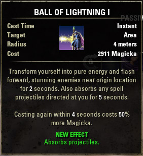 Bolt Escape Ball of Lightning I