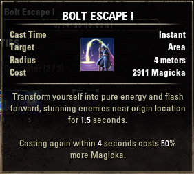 Bolt Escape I