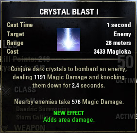 Crystal Shard Crystal Blast I