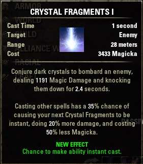 Crystal Shard Crystal Fragments I