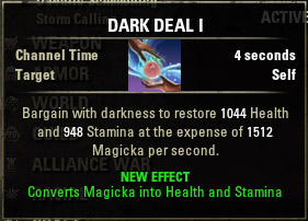 Dark Exchange Dark Deal I