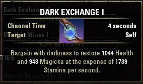 Dark Exchange I