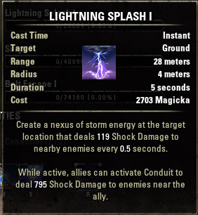 Lightning Splash I