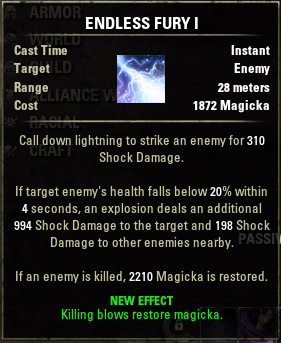 Mage's Fury Endless I