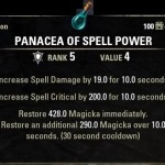 Panacea of Spell Power Potion