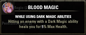 Passive 2 Blood Magic