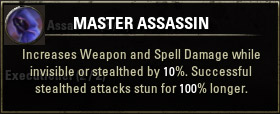 Passive Master Assassin