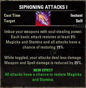 Siphoning Attacks I