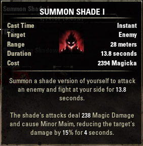 Summon Shade I