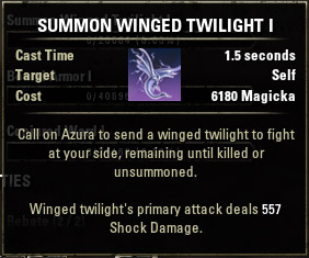 Summon Winged Twilight I