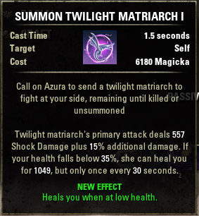 Summon Winged Twilight Matriarch I