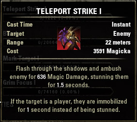 Teleport Strike I