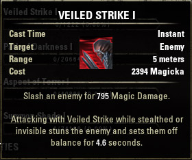 Veiled Strike I