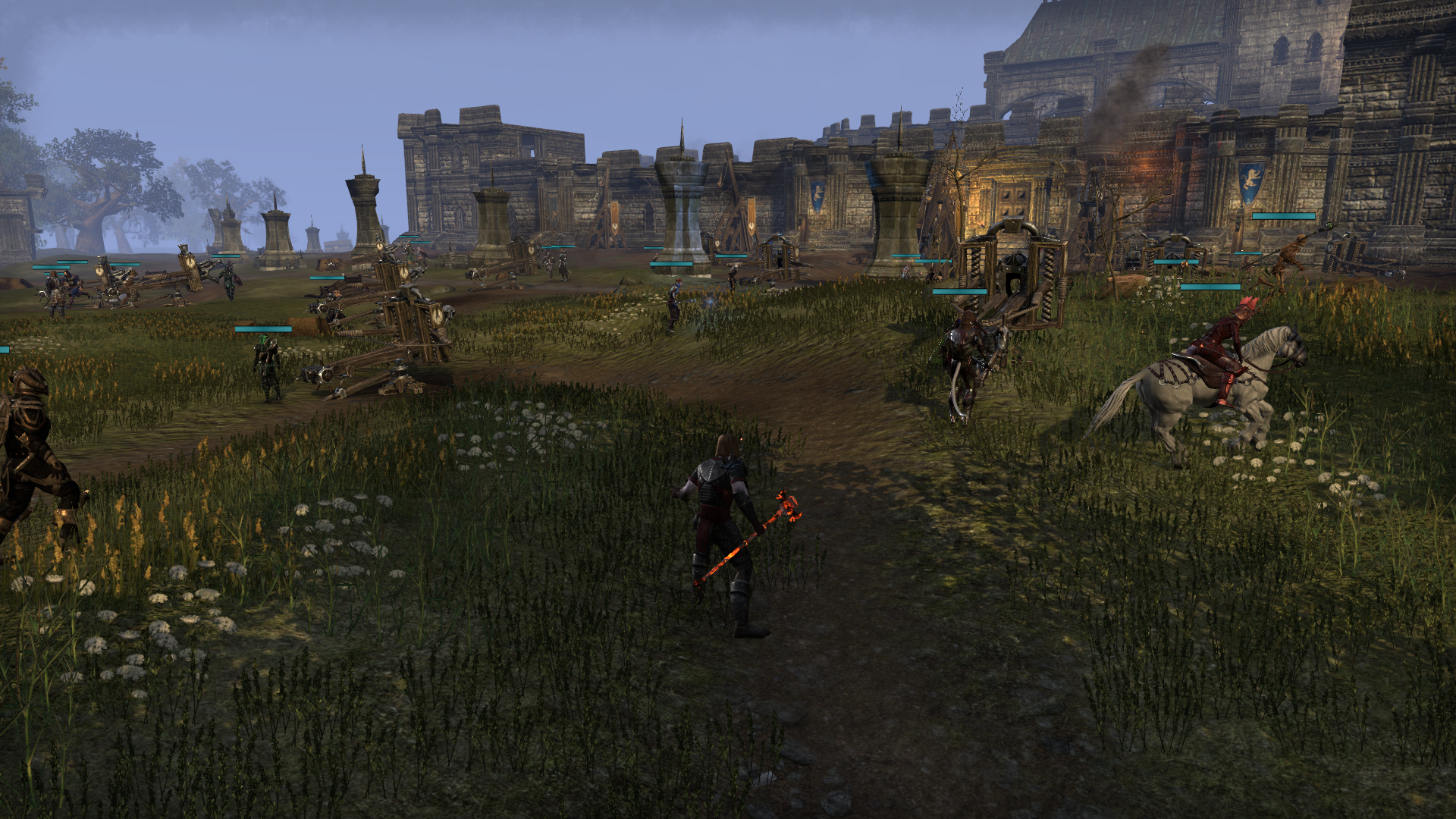 eso how to change build in cyrodiil
