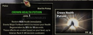 Crown Health Potions Consumable