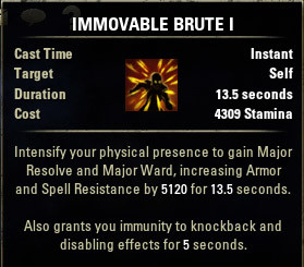 Immovable Brute