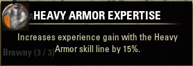 Orc 1 Heavy Armor Expertise