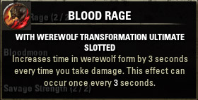 Passive 3 Blood Rage