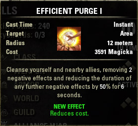 Purge Efficient