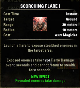 Scorching Flare