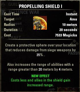 Siege Propelling Shield