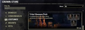 Tribal Shamans Costumes Pack