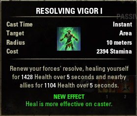 Vigor Resolving