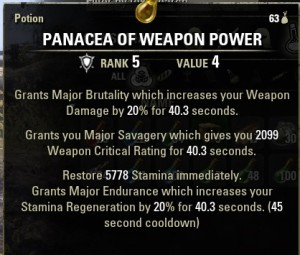 Panacea of Weapon Power