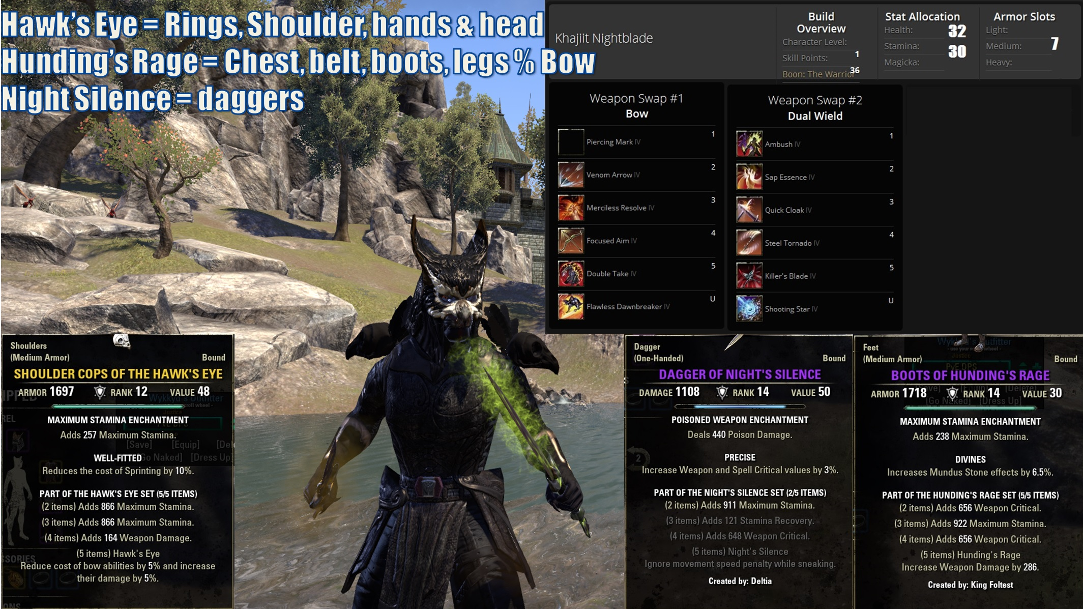 Eso Nightblade Pve Leveling Build