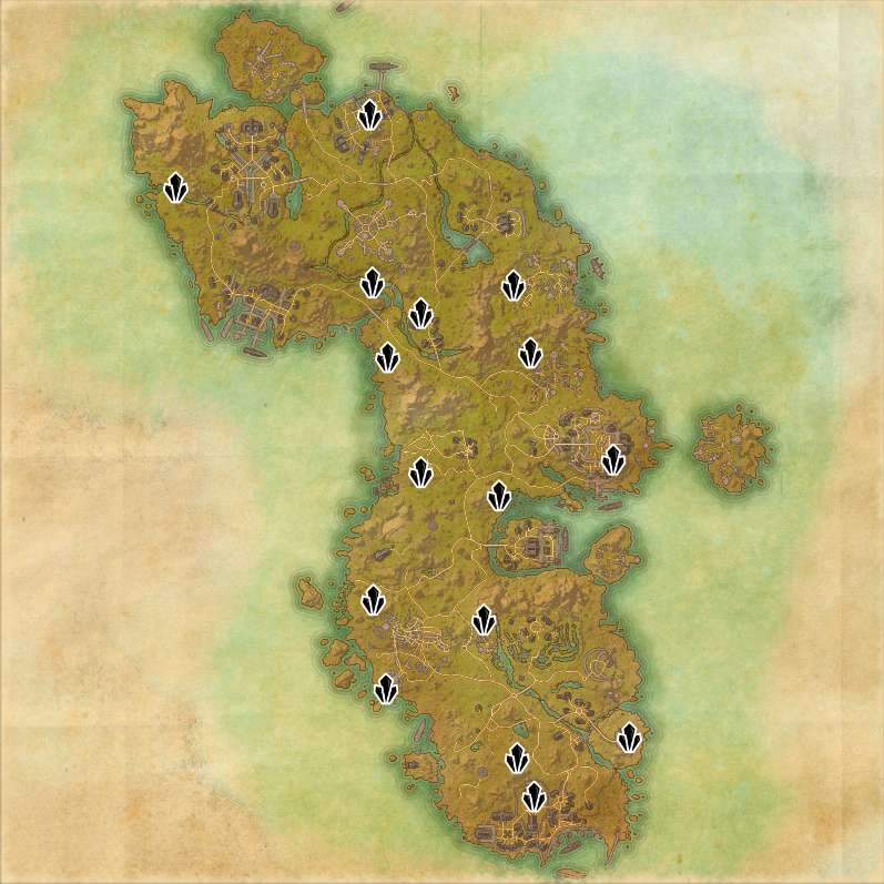 Skyshard Locations In ESO