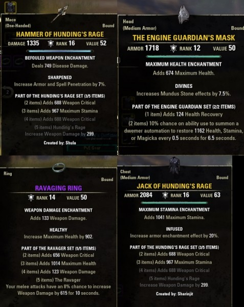 Specter PvP Build
