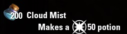 Could Mist ESO Alchemy Water CP Level 50
