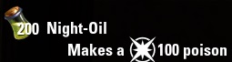 Night-Oil ESO Poison Water Level 100