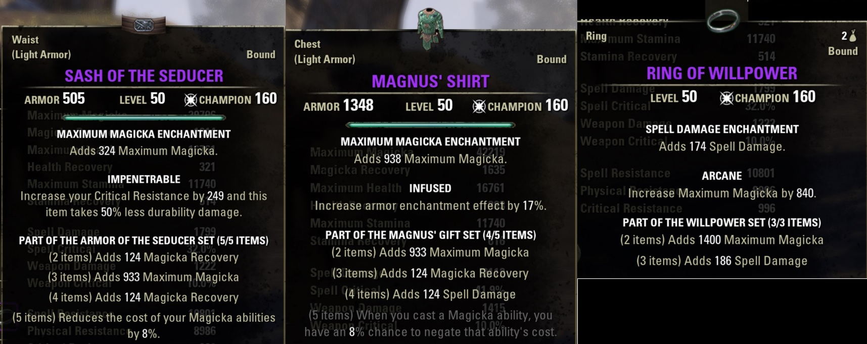 Best Crafted Gear Eso