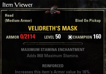 ESO Shadow of Hist New Gear Sets
