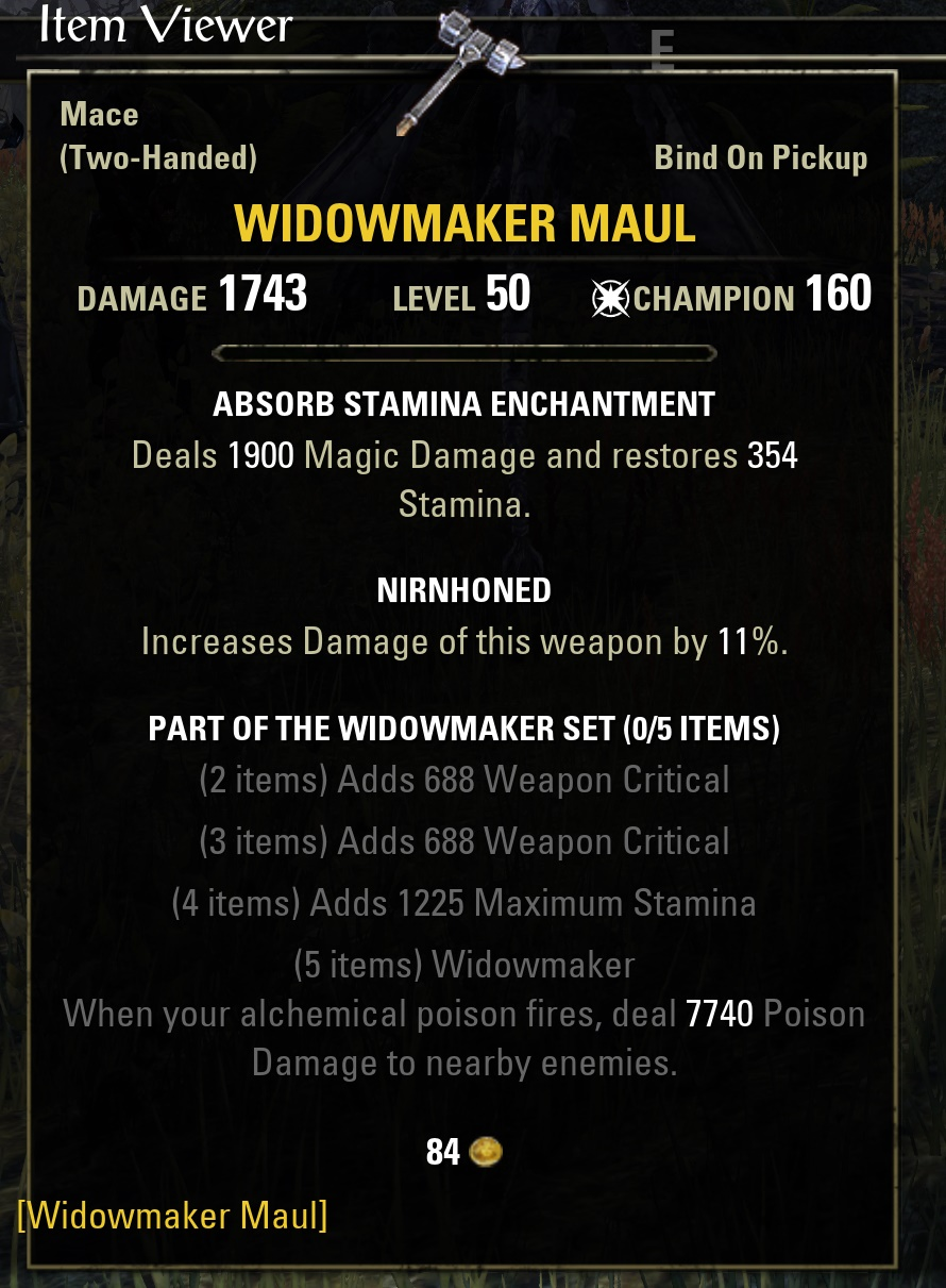 eso how to get gear sets