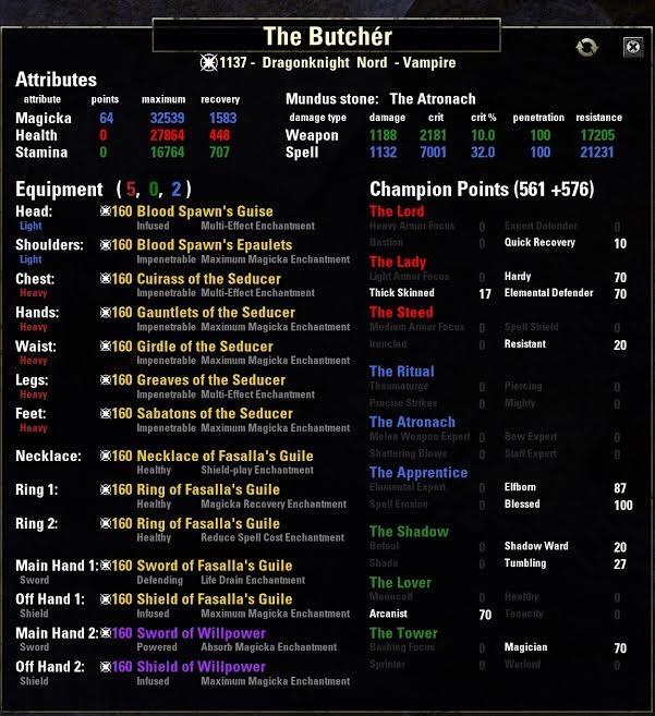 ESO Group PvP Builds - Deltia's Gaming