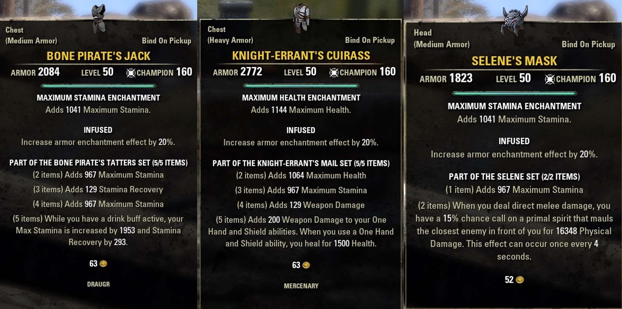 how to get master weapons eso