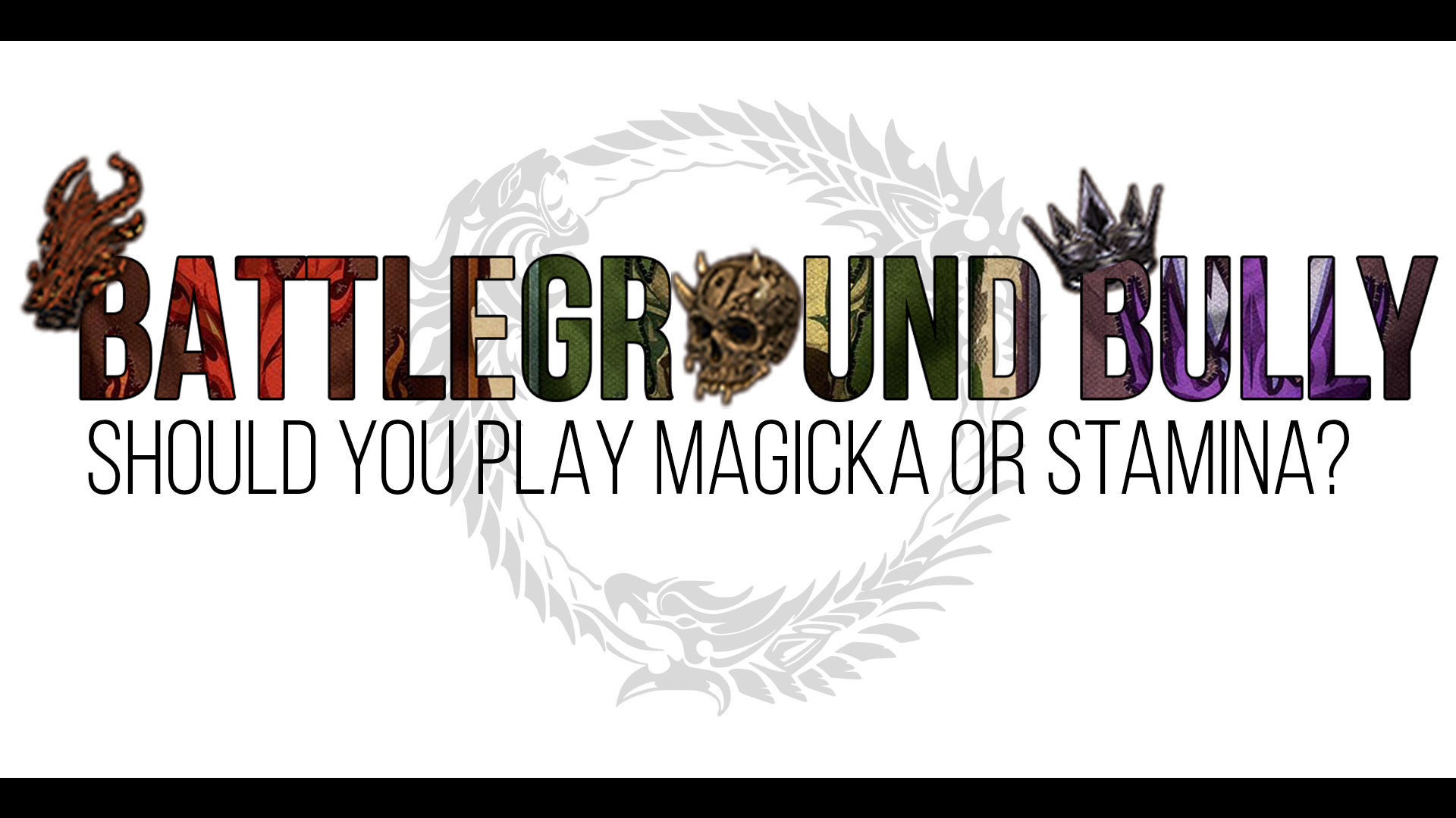 Should you Play Magicka vs  Stamina in The Elder Scrolls Online